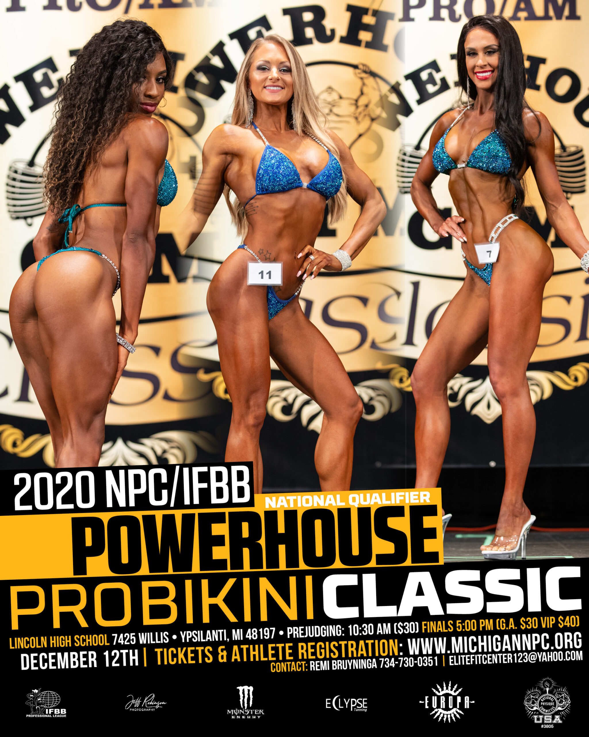 NPC/IFBB Powerhouse Classic Poster