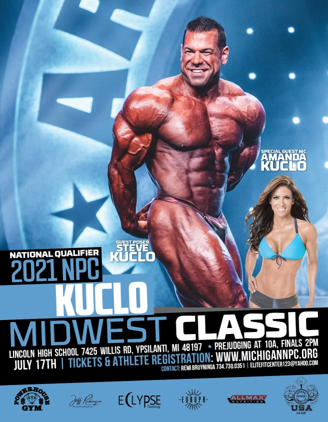 2021 NPC Kuclo Midwest Classic Poster