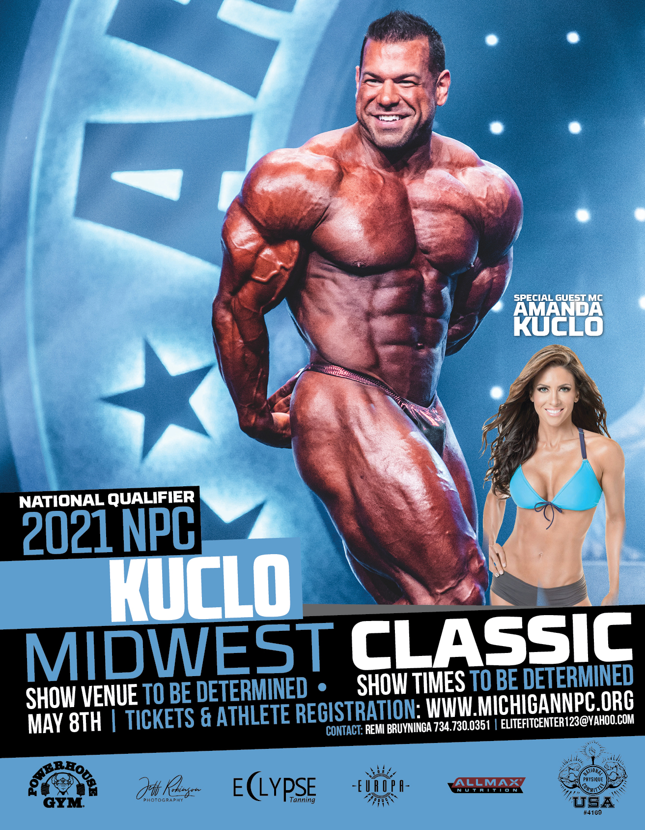 2021 NPC Kuclo Midwest Classic Poster