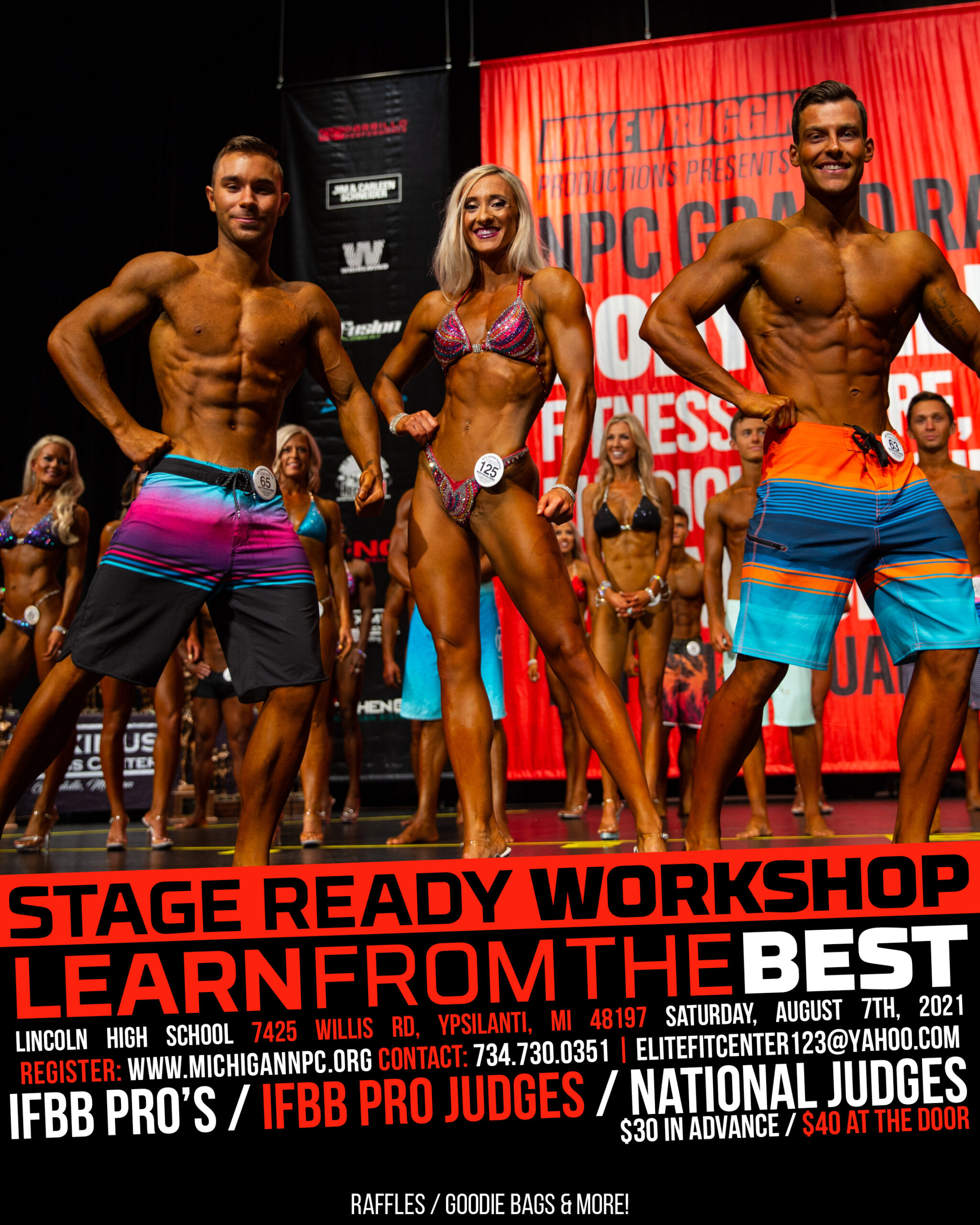 2021 Stage Ready Workshop Poster